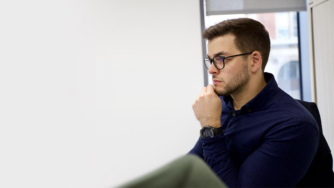 alex working on cloud data platform