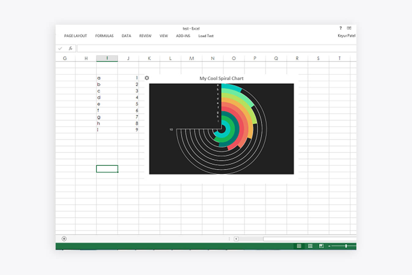 12 data visualisation tools for excel bringing data to life 2018 radial bar chart ccuart Choice Image
